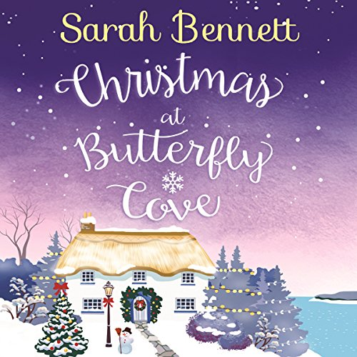 Christmas at Butterfly Cove audiobook cover art