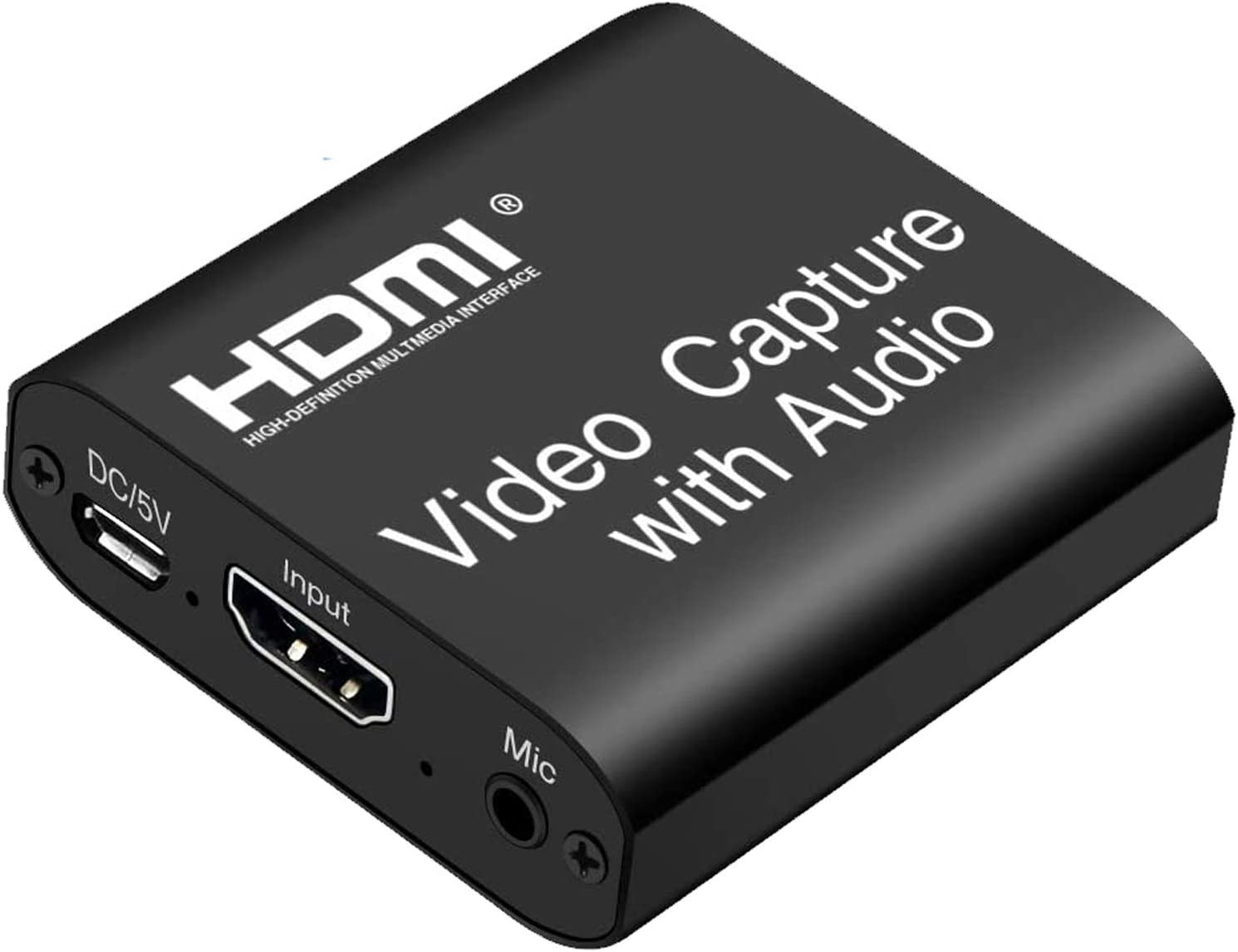 ORIVISION Video Capture Card with Loop Out, HDMI USB 2.0 4K HD 1080P 60FPS Game Capture Video Audio Recorder for Live Streaming for PS3/ PS4 /Xbox One/DSLR/Camcorders/Action Cam
