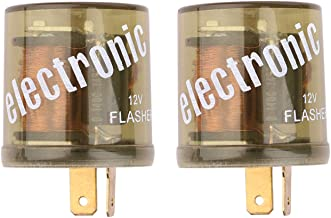 Electronic Flasher Relay, Sdootauto Heavy Duty Turn Signal Flasher Relay 2 Pin- 2 Pack