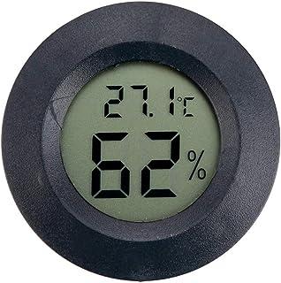 Innenfeuchtigkeits-Monitor Mit Temperatur-Hygrometer bitcircuit Mini-Digital-Hygrometer-Thermometer F/ür Zigarren-Humidor