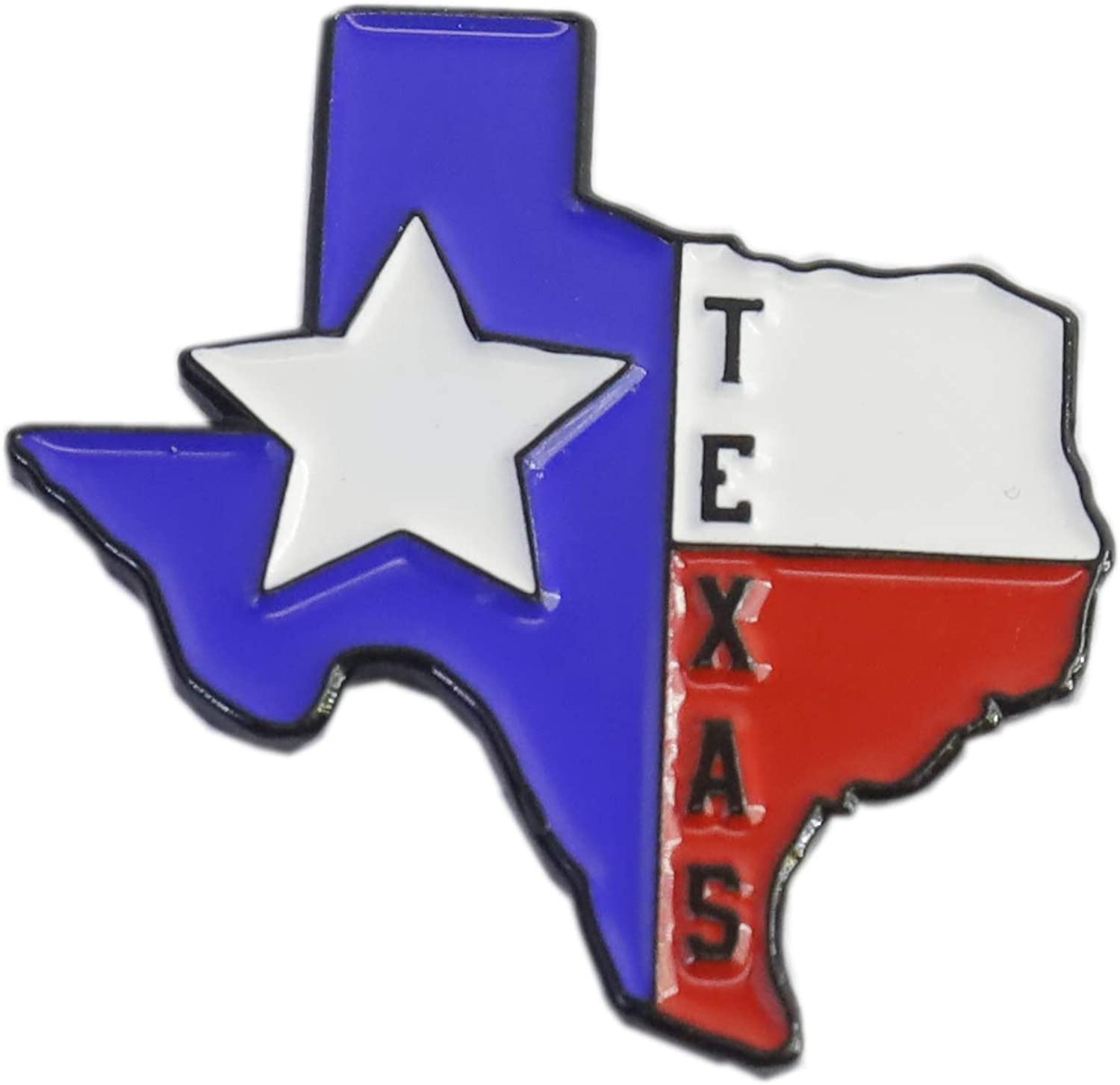 WizardPins Texas Lone Star State En Shape Edition Beauty products of Max 65% OFF