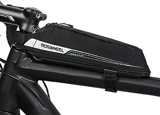 Roswheel Borsa Bici, Bicicletta Telaio Borsa Frontal Sacchetto TOPTUBE Bag per Casual/Trekking/MTB/Mountain Biking(2018, 0...