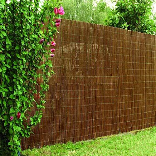 DX Willow Fence Mat/Garden Privacy Screen/Screening Walls and Fences, Willow Fence Privacy Shield Protección contra el Viento/Sol para Balcones y terrazas