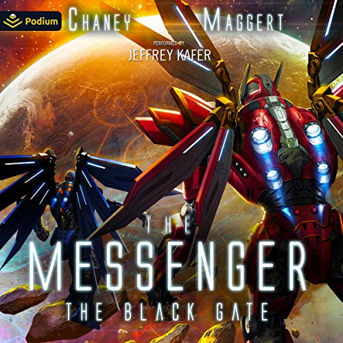 The Black Gate Audiobook By Terry Maggert, J. N. Chaney cover art