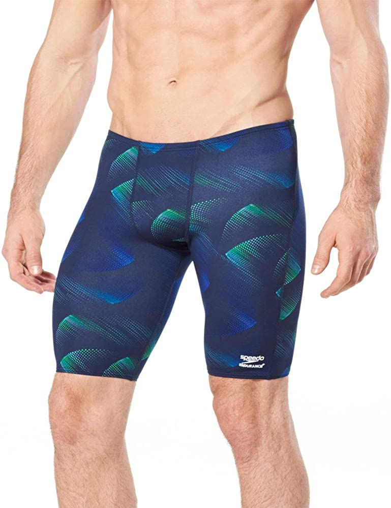 Speedo Men's Swimsuit Jammer Endurance+ Blade Beta Colors Bargain Austin Mall Team