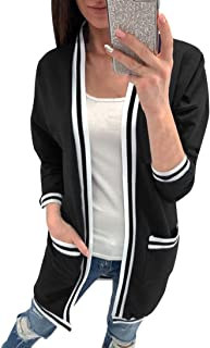 DongDong Womens Casual Coat Long Sleeve Knitted Sweater Jumper Cardigans