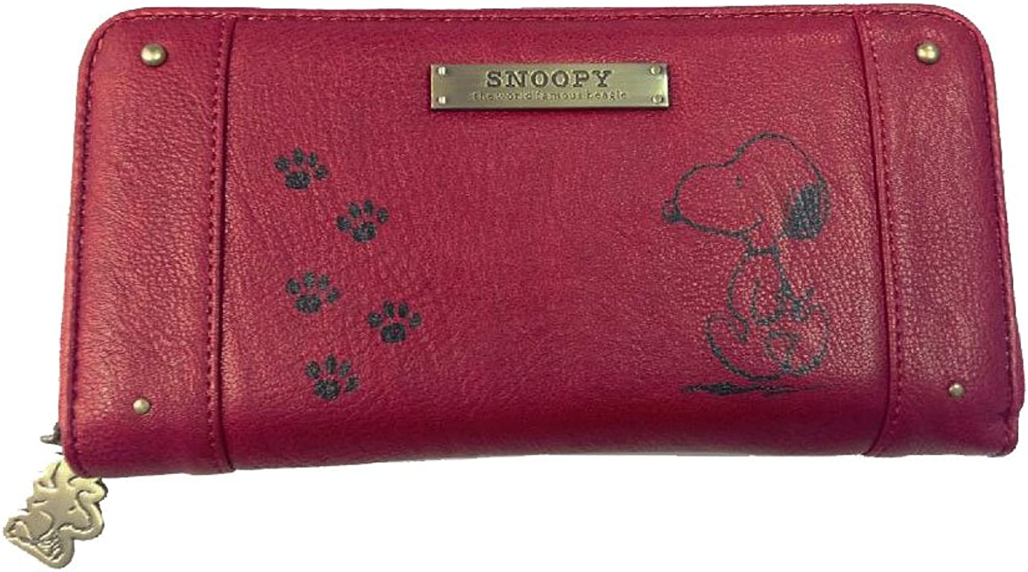 Snoopy Runde Haufen Fall rot SNP-31-RD (Japan-Import)