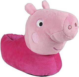 ARTESANIA CERDA Zapatillas de Casa 3D Peppa Pig, Niña Niñas