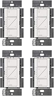 Lutron PD-10NXD-WH Caseta Pro In Wall Dimmer 250W LED (4 Pack)