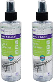 Flents Wipe 'n Clear Spray Lens Cleaner-8 oz, 2 pack