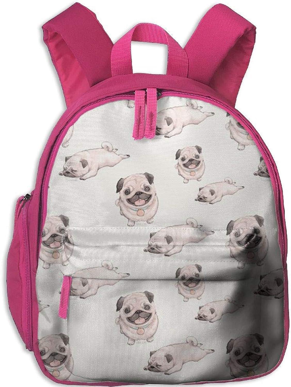 Pinta Starling Dog Cub Cool School Book Bag Backpacks for Girl's Boy's