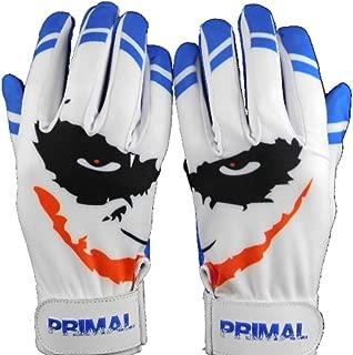 Cool Blue Smiley Baseball Batting Gloves