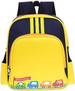 Waterproof Preschool Toddler Backpack Boys Nylon Lightweight Kids' Kindergarten School Book Bags with Adjustable Strap