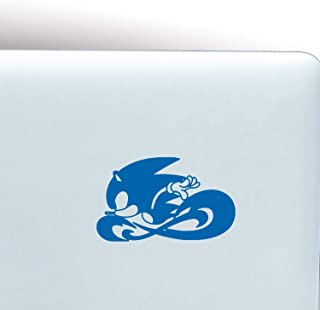 Black Heart Decals & More Sonic The Hedgehog/Sonic Vinyl Decal Sticker | Color: Blue | 5
