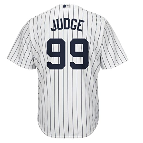 Aaron Judge New York Yankees  99 MLB Men s Majestic Home Replica Cool Base  Player Jersey 9f54cafc6