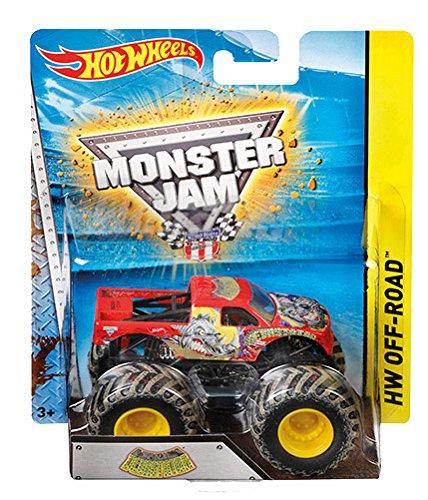 Mattel Hot Wheels BHP37 Monster Jam Fahrzeug, je 1 Fahrzeug, zufällige Auswahl(Sortiert)