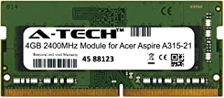 A-Tech 4GB Module for Acer Aspire A315-21 Laptop & Notebook Compatible DDR4 2400Mhz Memory Ram (ATMS269009A25824X1)