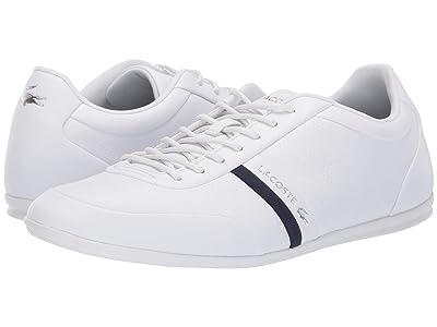 Lacoste Storda 119 1 U (White/Navy) Men