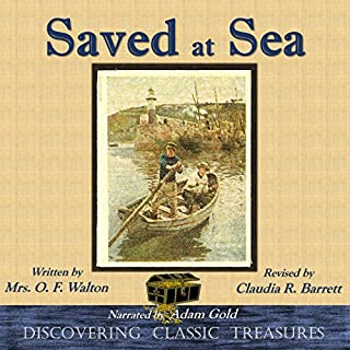 Saved at Sea - Annotated audiobook cover art