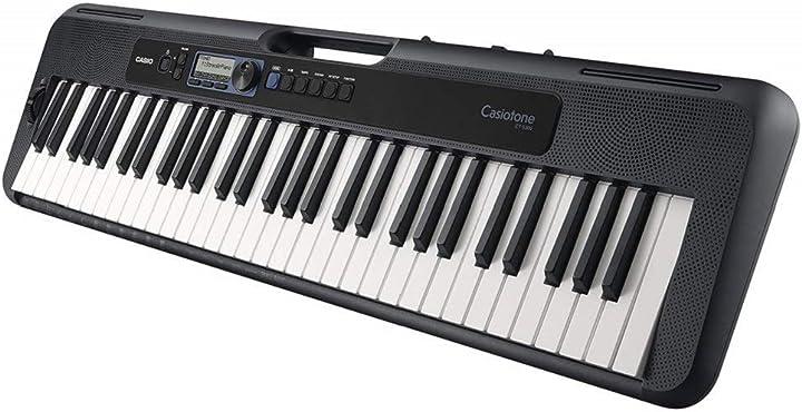 Tastiera musicale elettronica, nero casio - musical instruments ct-s300c7