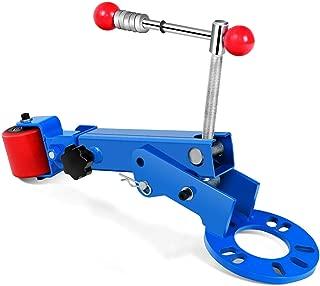 Goplus Fender Roller Reforming Extending Tool, Heavy Duty Wheel Arch Roller Flaring Former for Automobile Maintenance (Blue)
