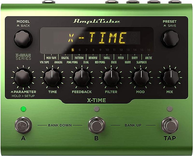 AmpliTube X-TIME:フロントパネル