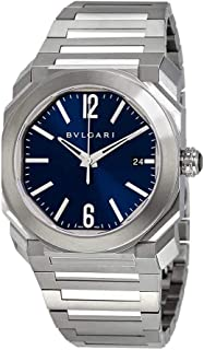 Octo Solotempo Automatic Blue Dial Men's Watch 102105