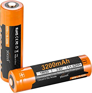 Rechargeable Battery 3200mAh with High Leakage Protection High-Capacity high-Performance ,Suitable for LED Flashlight, Headlight, Alarm Clock, Remote Control