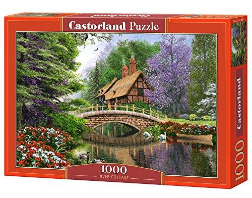 Castor 102365 - Casa di Campagna al Fiume - Puzzle 1000 Pezzi