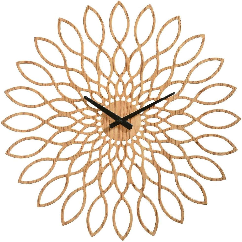 Sompex Clocks Wanduhr Oslo, Farbe Cappuccino