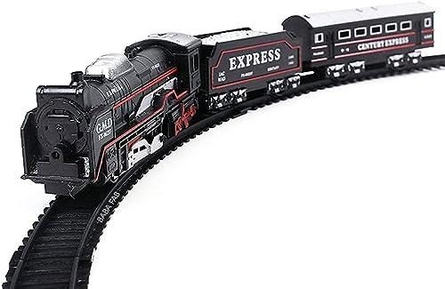 Train Set with Sound Flashing Headlight Educational Toy (Small Train)
