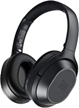 Langsdom BT25 Active Noise Cancelling Headphones Bluetooth Headphones with Microphone/Deep Bass Wireless Headphones Over Ear 38H Playtime for Travel/Work/TV/Computer/Cellphone - Black