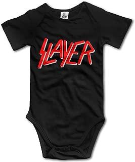 Famouse Thrash Metal Band Slayer Logo Baby Onesie Baby Bodysuit