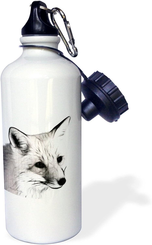 3dpink wb_9259_1 The Niagara Falls Sports Water Bottle, 21 oz, White