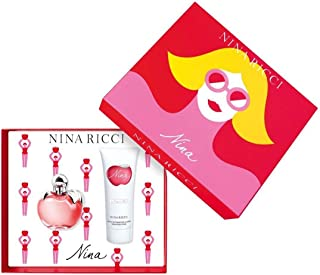Nina Ricci Nina Gift Set 2.7oz Eau de Toilette + 3.4oz Body Lotion For Women