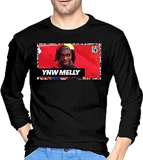 BEN ROSE Mens Particular YNW Melly Long Sleeve T-Shirts Black