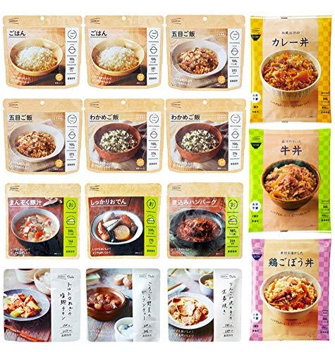 非常食 イザメシ 長期 保存食セット 9食分【ごはん×6食・丼×3食・おかず×6食】