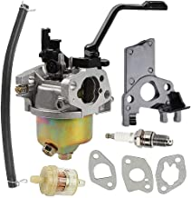 Harbot Carburetor for Harbor Freight Chicago Predator 3000 3500 3050 3200 4000 Watts Gasoline Generator with Fuel Filter Gasket