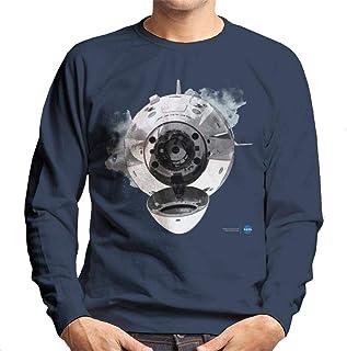 NASA SpaceX Dragon Capsule Docking Men's Sweatshirt