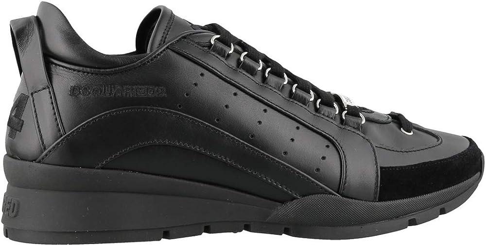 Dsquared2 sneakers per uomo, in pelle 251 Mid-Top