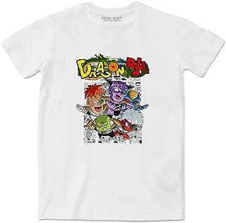 EATGE Lovely Ginyu Force Pose White Couple Fashion Funny T-Shirt