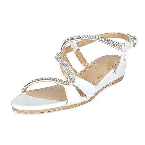 d8944420f2d61 Women's White Comfort Wedges: Amazon.com