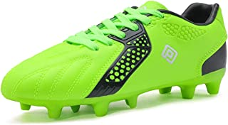 DREAM PAIRS Boys Girls Soccer Cleats Football Shoes