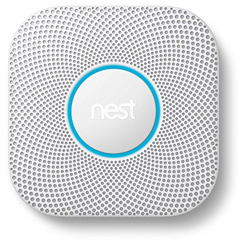 Google Nest Protect Smoke + Carbon Monoxide Alarm, S3000BWES, 2nd Gen, Wired