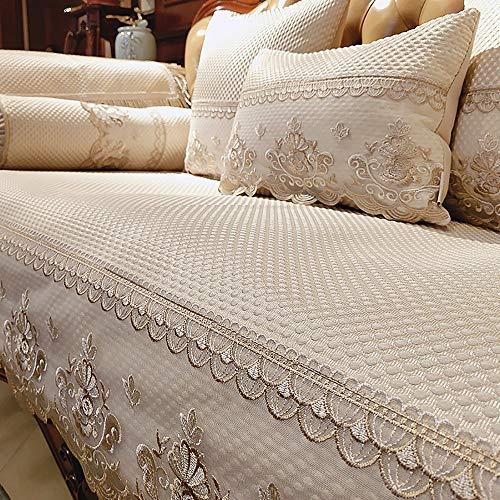 Lunana Home bankovertrek, elastisch, universeel, geschikt voor alle stoffen, elegant, duurzaam, voor stoelen, 75 x 70 cm