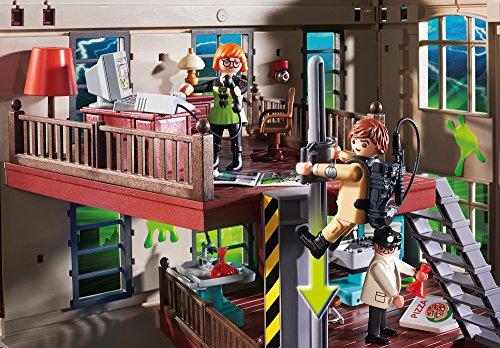 Quartier Général Ghostbusters Caserne de Pompier Playmobil - 9219 - 5