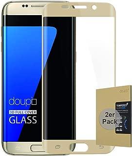 Bl/äschenfrei DOSMUNG Panzerglas Schutzfolie Kompatibel f/ür Galaxy S7, Full Cover Panzerglasfolie f/ür S7 Anti-Kratzer 2 St/ück HD Displayschutzfolie f/ür Samsung Galaxy S7
