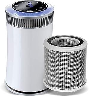 comprar comparacion GRIDINLUX. Purificador de aire HEPA H11 Alta Eficiencia. 4 Sistemas de filtrado. Sensor LED calidad de aire. Temporizador....