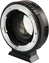 EBYPHAN NF-M43X 0.71x Lens Mount Adapter Ring Converter for Nikon G D Lens to Micro Four Thirds Camera (Manual Infinity Focus, Adjustable Aperture, Focal Reducer Speed Booster)