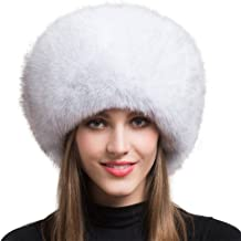 white fox fur russian hat